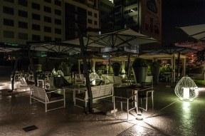Außenterrasse, Falkensteiner Hotel, Belgrad