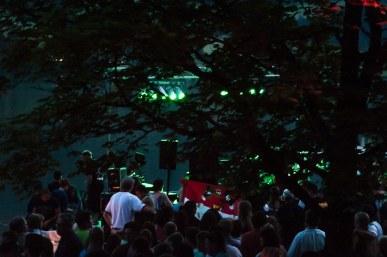 Kölner Fans beim Lichterzauber