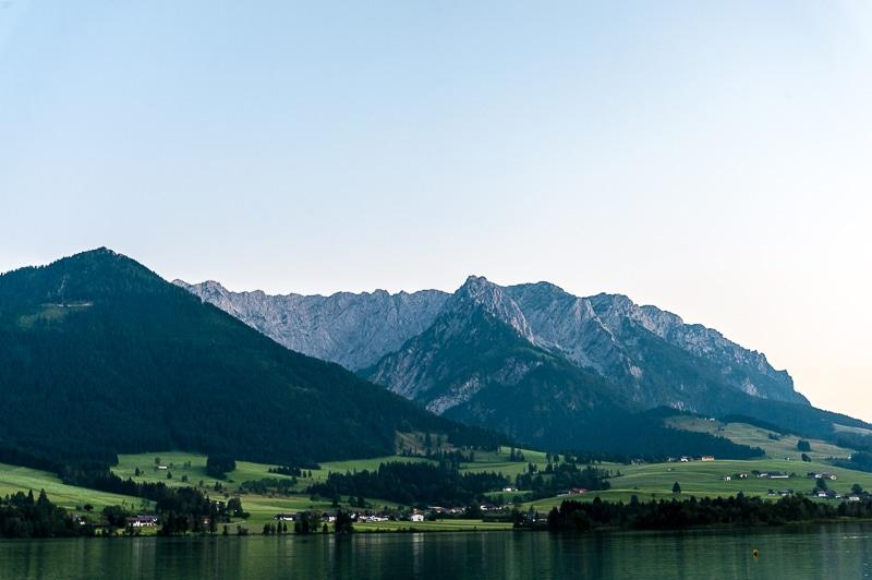 Bergpanorama Kaisergebirge