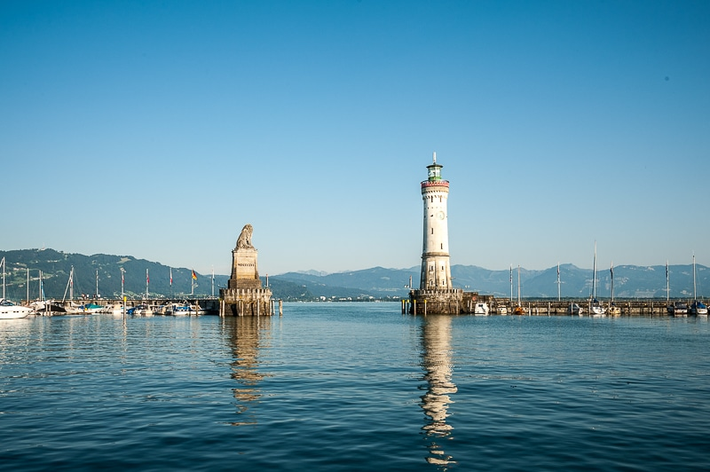 Hafen von Lindau (Bodensee)