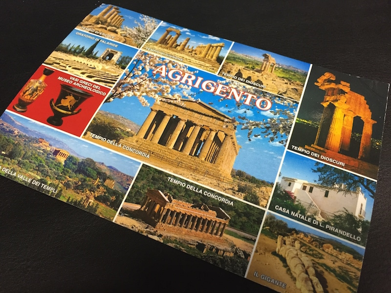 Agrigento, SIzilien Postcard of the Week