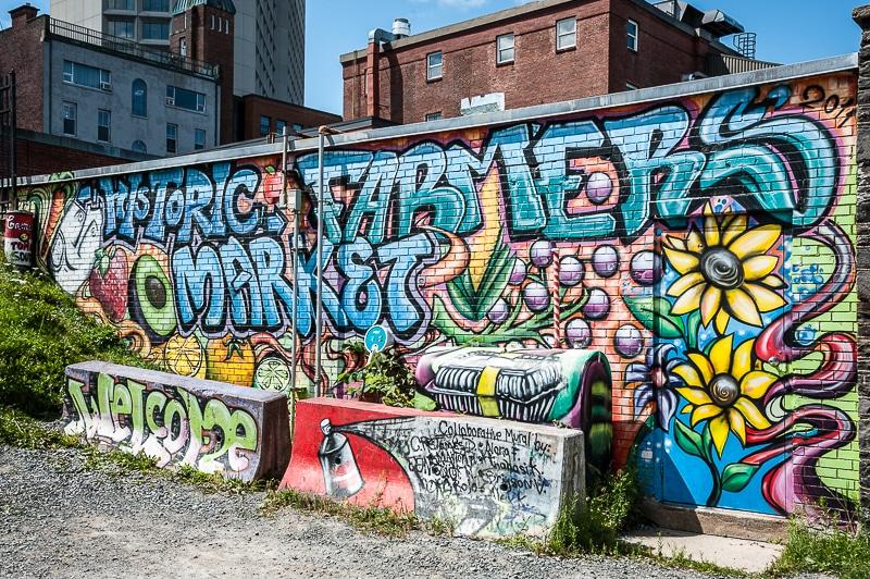 Historic Farmers' Market Graffito