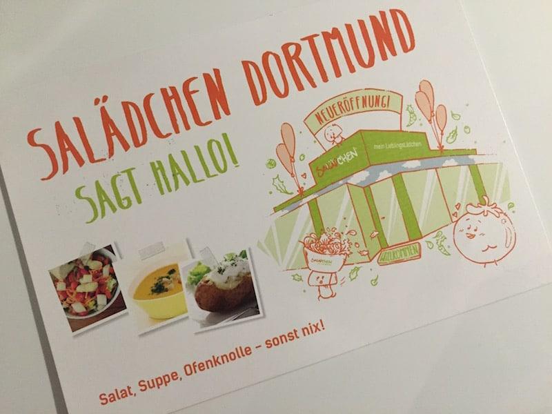 Salädchen Dortmund Flyer