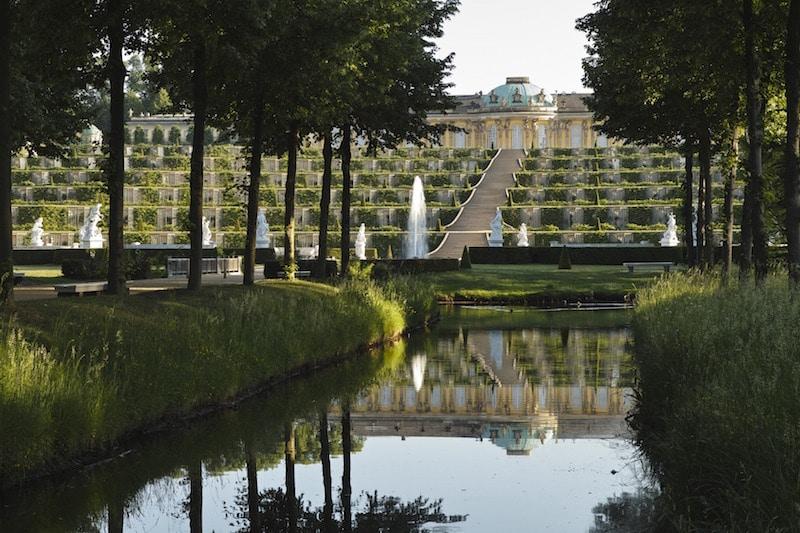 Potsdam, Park Sanssouci, Schloss Sanssouci Foto: Hans Bach (Pressefoto SPSG)