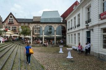 Hof in Aachen