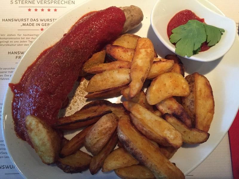 Currywurst bei Hanswurst
