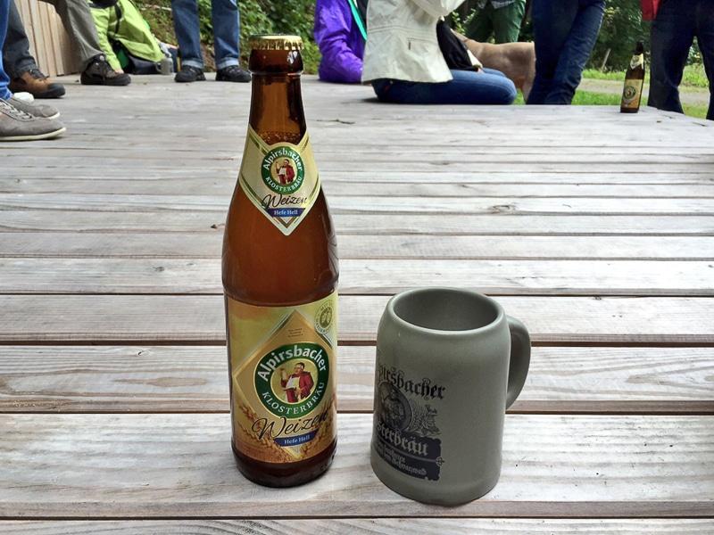 Weizen, hell - Alpirsbacher Klosterbräu