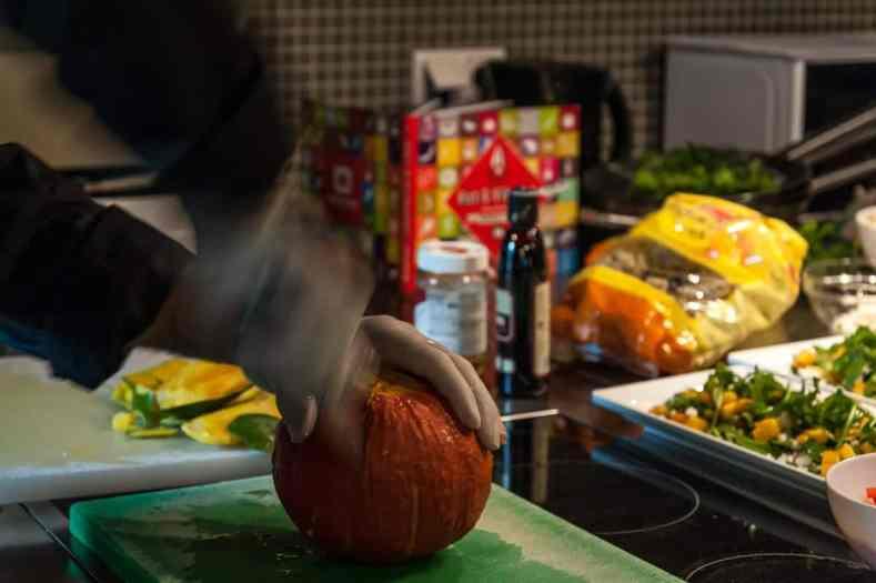 How to prepare a Hokaido-Kürbis
