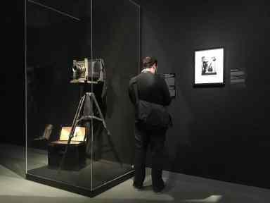 Ausstellungsbereich zum Fotostudio