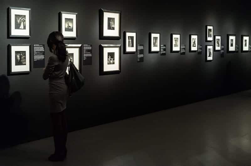 Ausstellungsbeginn (Foto: Simon Bierwald, Indeed Photography)