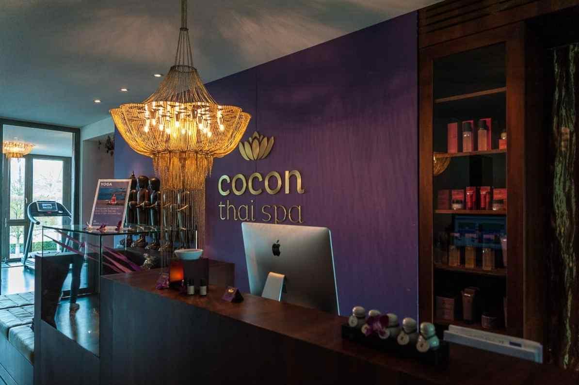 Cocon-Thai-Spa - die Theke des Spas vom Seerose.