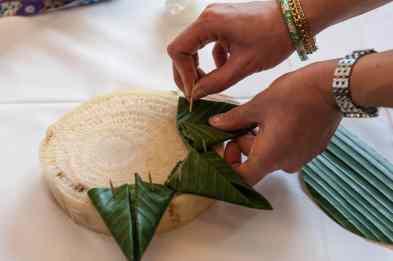 Schritt-für-Schritt-Anleitung für ein Krathong
