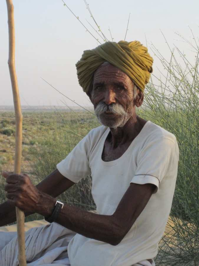 Kamelführer in Jaisalmer