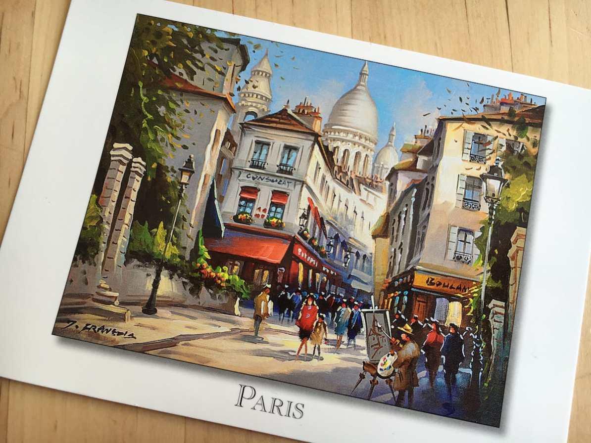 Postcard of the Week - Paris, Frankreich