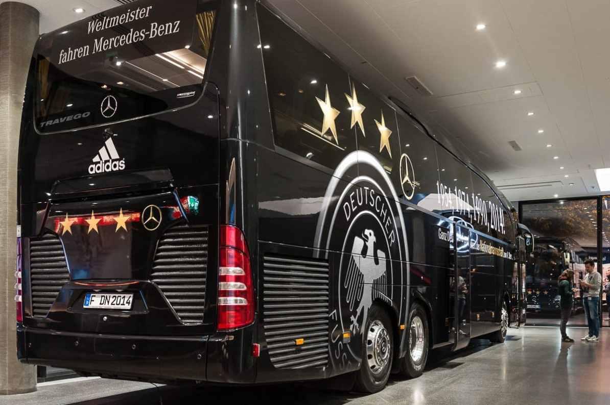 Bus der Nationalmannschaft