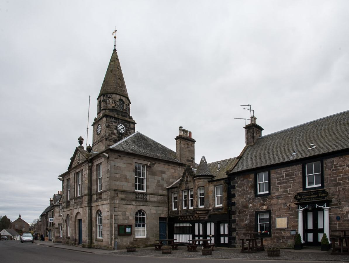 Town Hall & The Covenanter Hotel, Falkland
