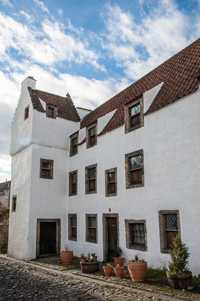 Study House, Culross - das Haus des Staatsanwaltes Duncan in Outlander