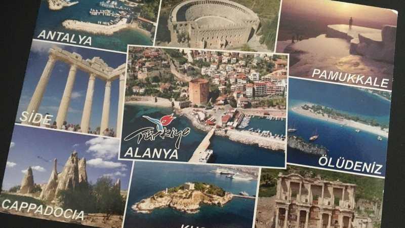 Postcard of the Week - Mittelmeerküste, Türkei