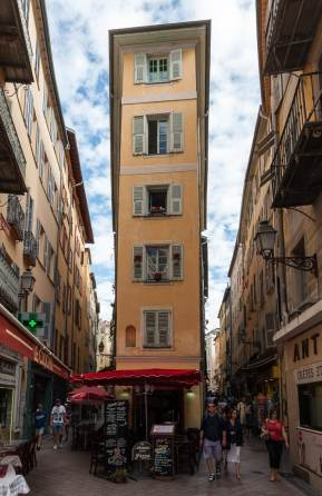 In den Gassen von Vieux Nice, der Altstadt von Nizza.