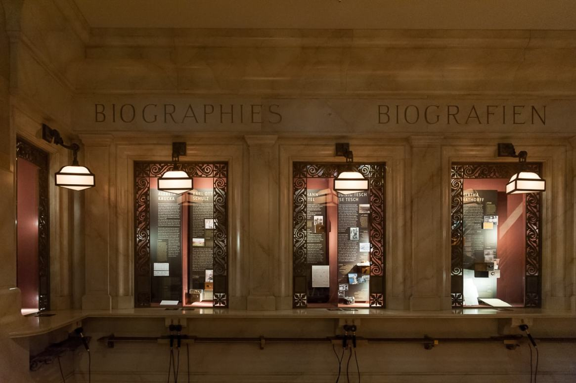 Biographien in der Grand Central Station