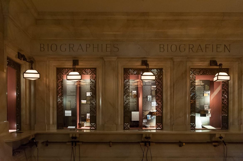 Biographien in der Grand Central Station