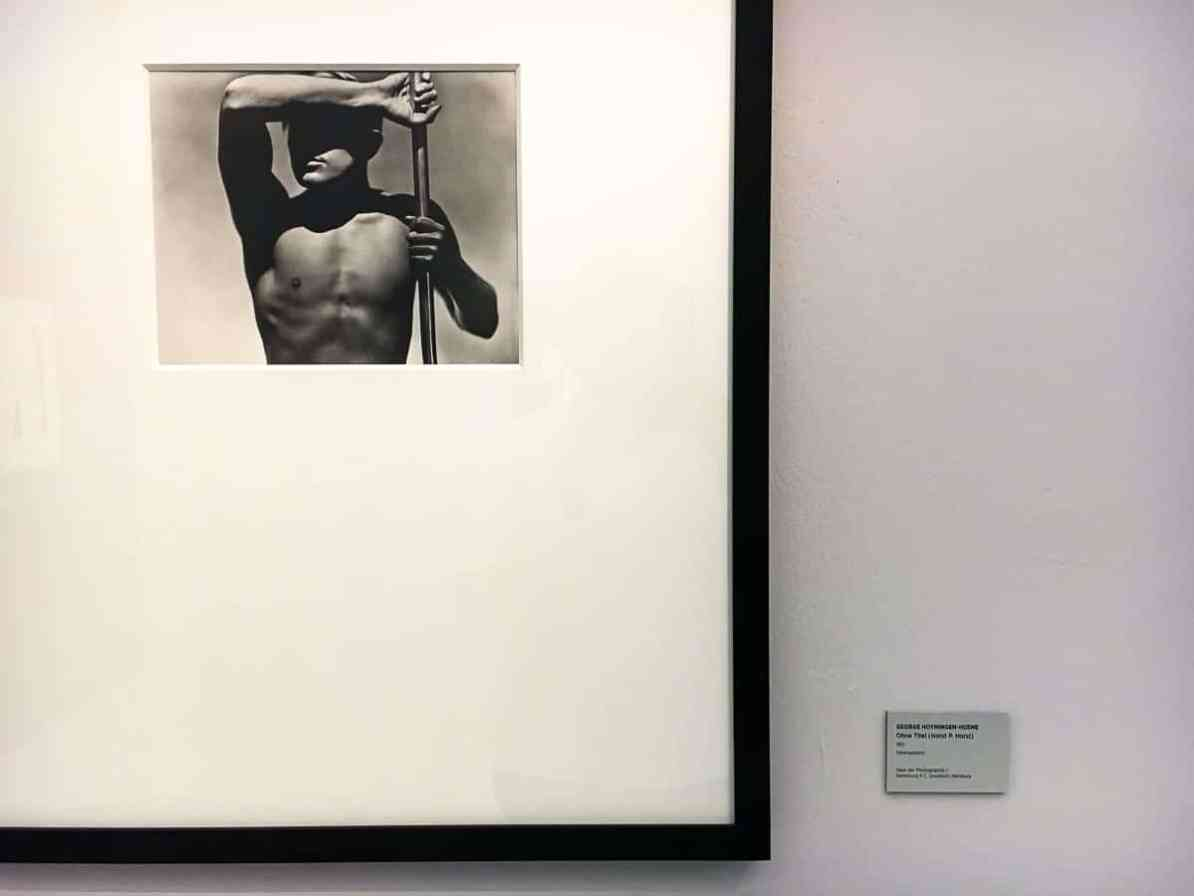 Aktportrait von George Hoyningen-Huene, Modell: Horst P. Horst