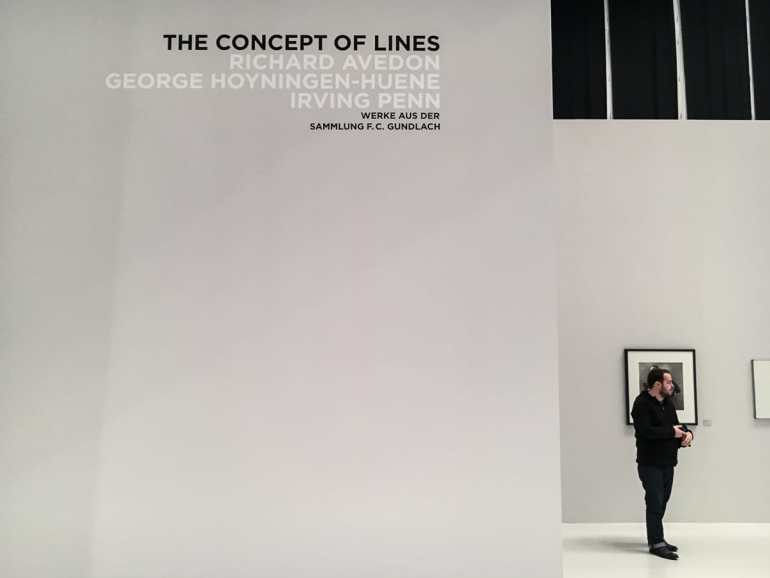 Concept of Lines, Haus der Photographie