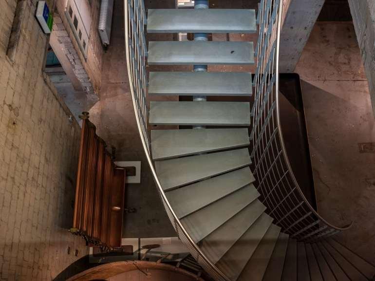 Untergeschoss Brauerei-Museum