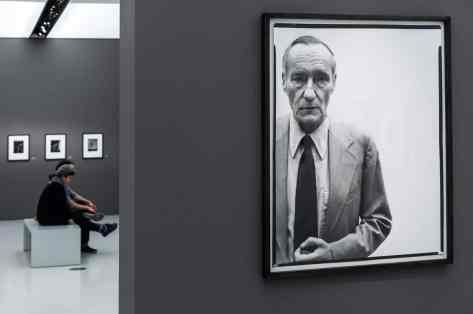 William S. Burroughs, Richard Avedon (Foto: Simon Bierwald, Indeed Photography)