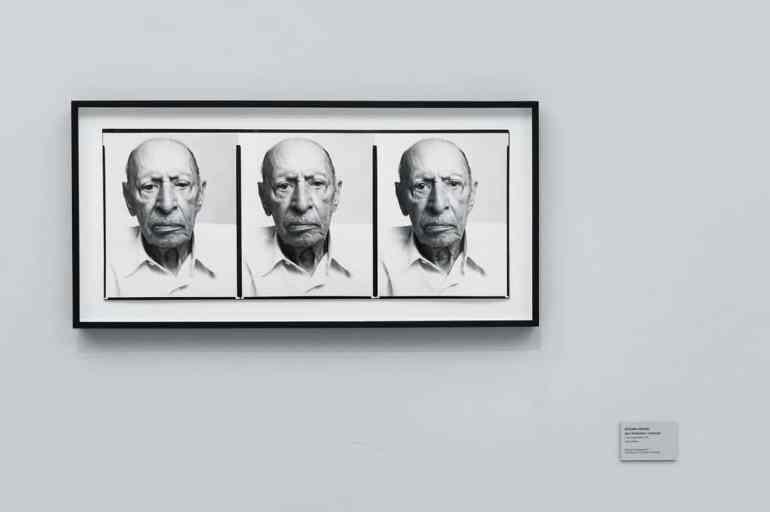 Igor Strawinsky - Triptychon von Richard Avedon (Foto: Simon Bierwald, Indeed Photography)