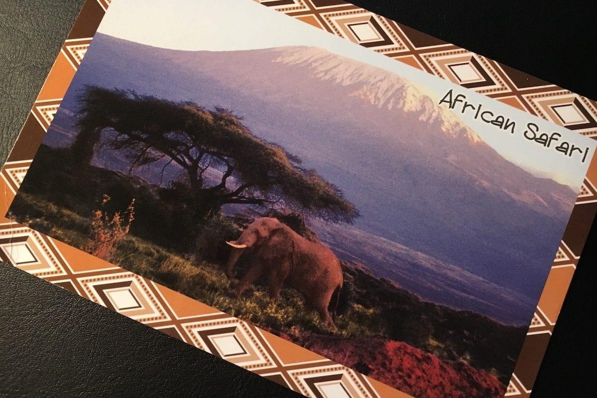 Postcard of the Week: Mount Kilimanjaro