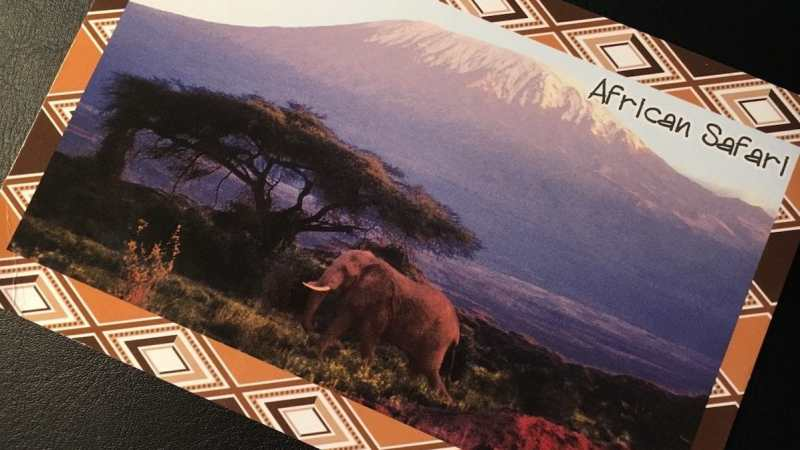 Postcard of the Week: Mount Kilimanjaro