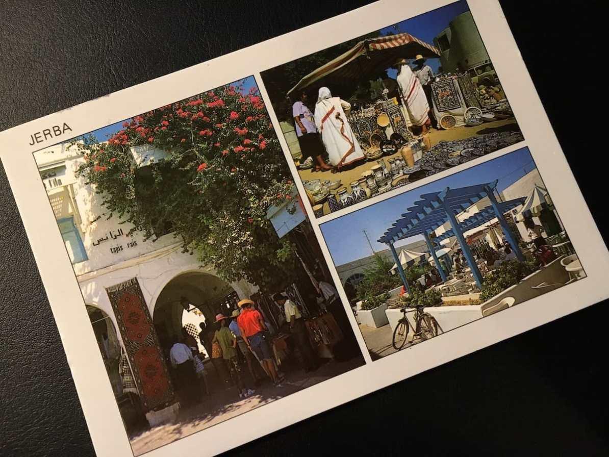 Postcard of the Week: Djerba, Tunesien #pcotw