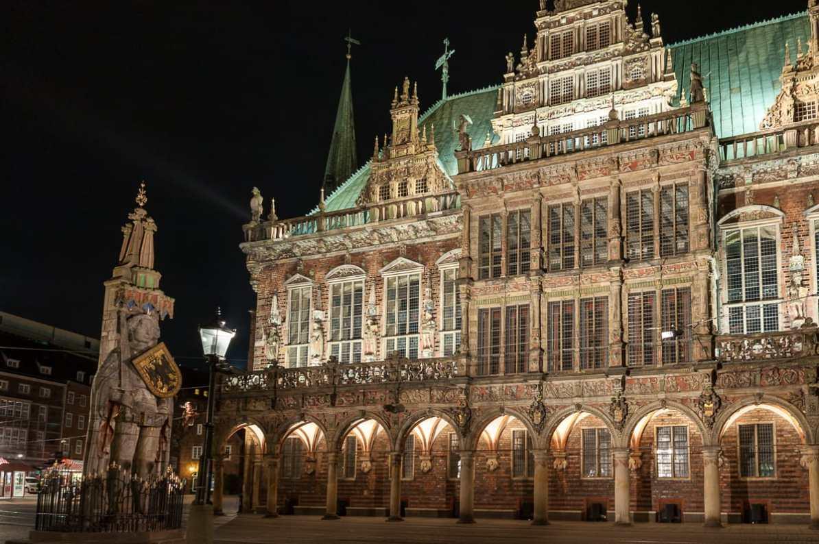 UNESCO-Welterbe Rathaus und Roland in Bremen