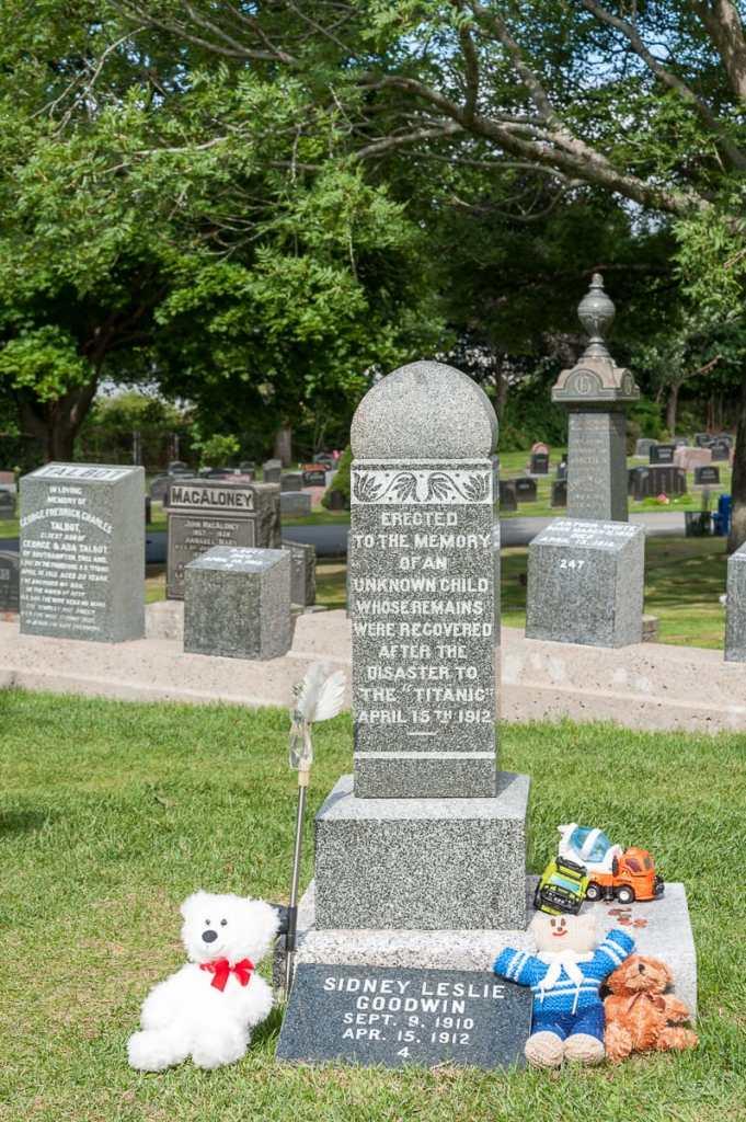 Das Grab des 19-monatigen Sydneys