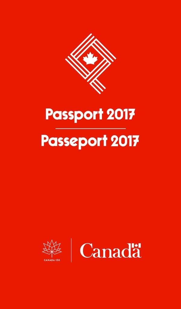 Opening Screen Passport 2017-App (iOS)