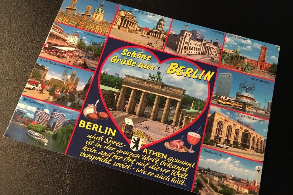 Postcard of the Week: Schöne Grüße aus Berlin