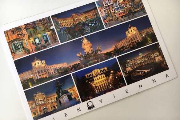 Postcard of the Week: Wien, Österreich von Jessica & Lawrence