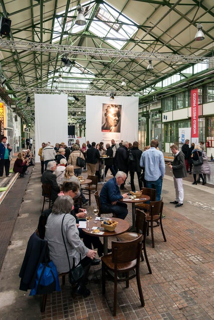 Eröffnungsfeierlichkeit der World Press Photo 2017 in Dortmund