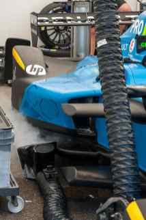 Vorbereitungen bei Renault