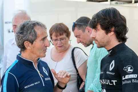 Alain und Nicolas Prost, Renault e.dams