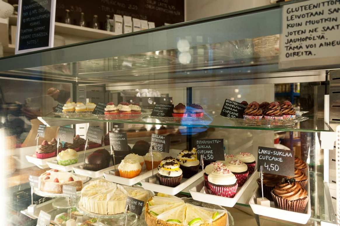 Muffins, Cupcakes & Kuchen - Kuppi ja Muffini