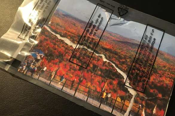 Postcard of the Week: Hogback Mountain, Vermont