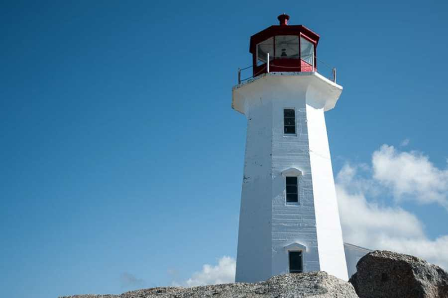 Peggy's Cove Leuchtturm, Nova Scotia