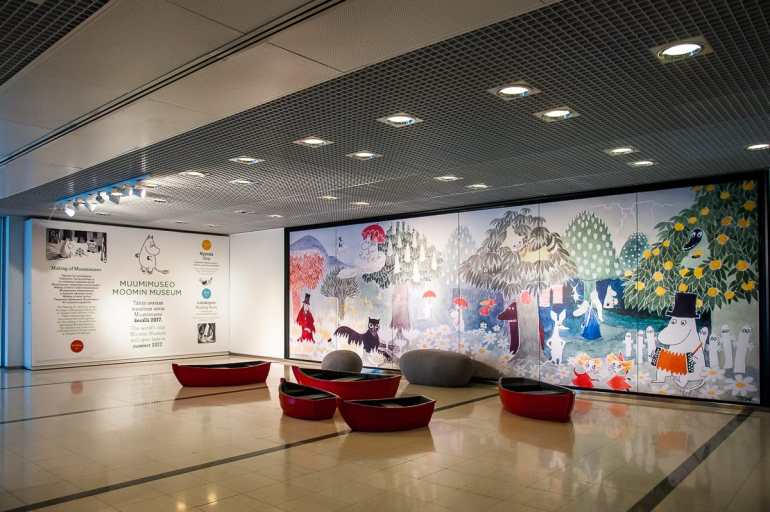 Das neue Muminmuseum in der Tampere Hall