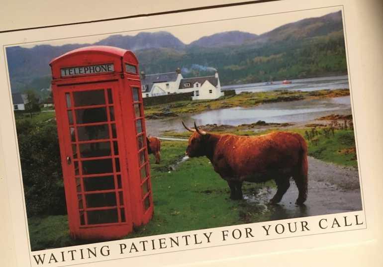 Postcard of the Week: Highlands, Schottland