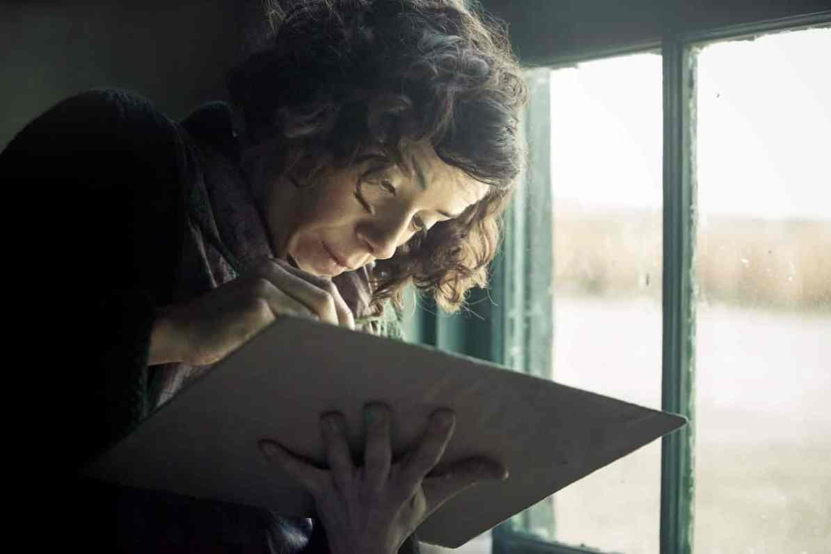 Maud Lewis (Sally Hawkins) © Photo by Duncan Deyoung, Courtesy of Mongrel Media