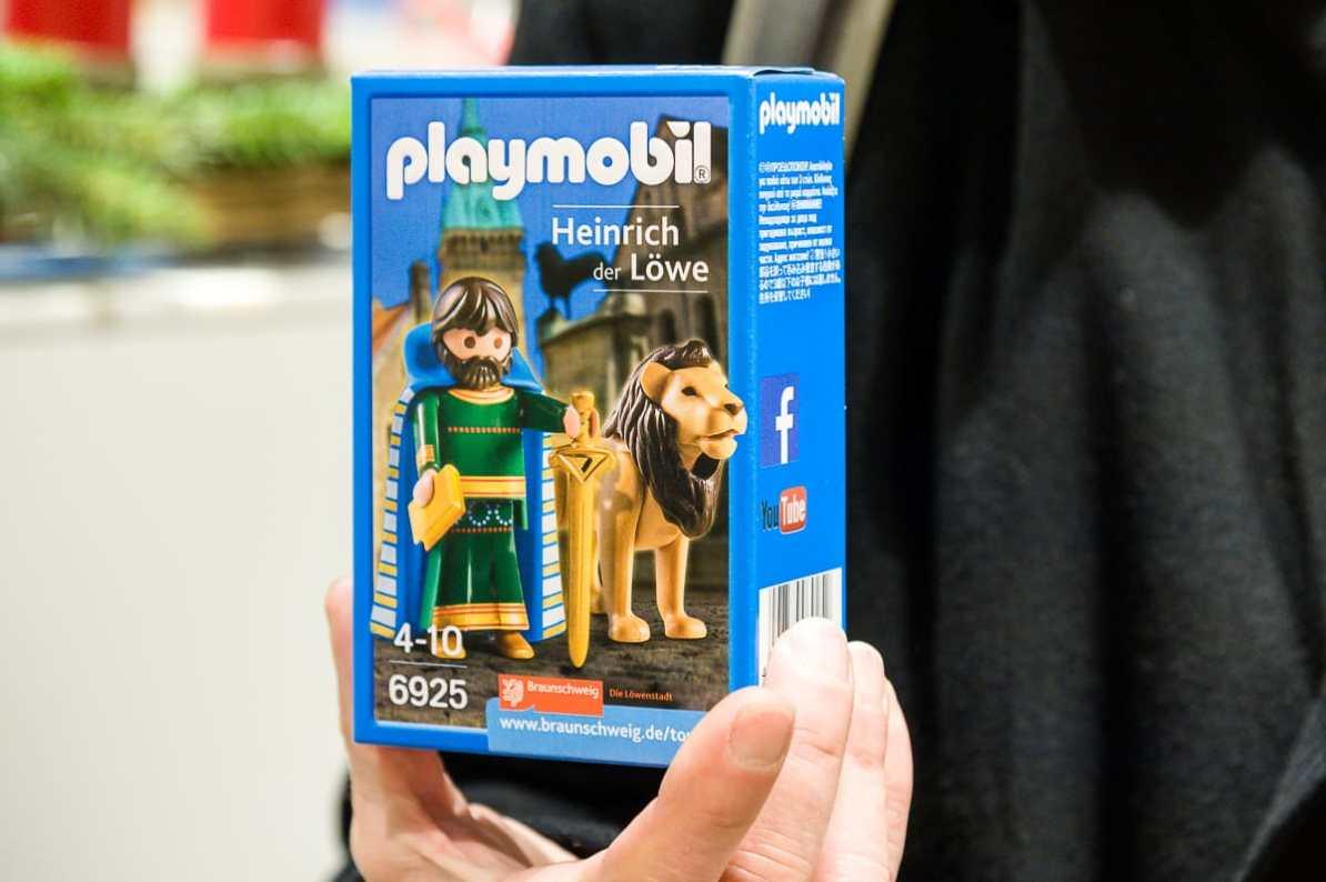 Heinrich, der Löwe als Playmobil-Figur