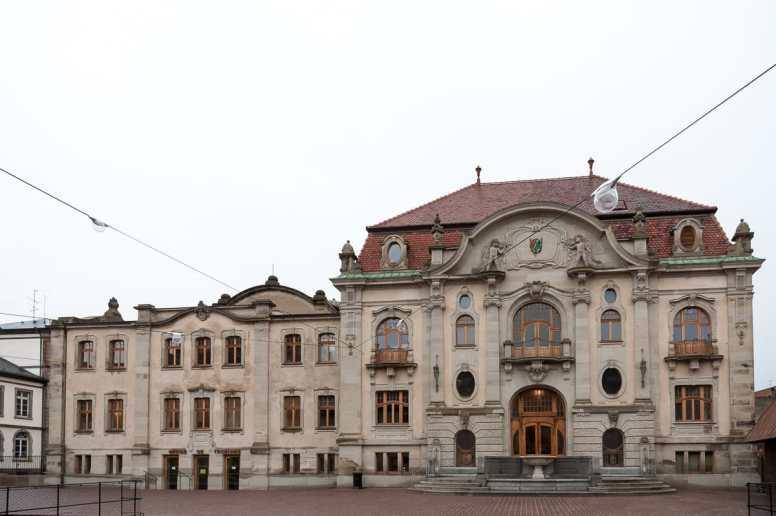 Das alte Hallenbad - der neue Teil des Musée Unterlinden