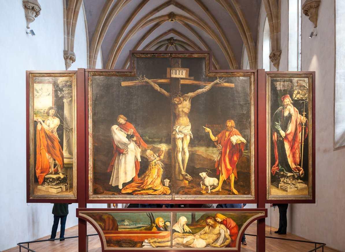 Erstes Wandelbild des Isenheimer Altars